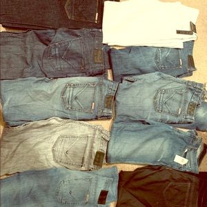 Lot of 10 Size 30 & 31 Hudson & Joes jeans.